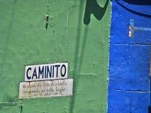 Caminito, Buenos Aires photos libres de droits