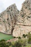 Caminito De Rey, Hiszpania - zdjęcia stock