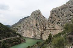 Caminito De Rey, Hiszpania - zdjęcia royalty free