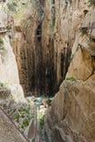 Caminito De Rey, Hiszpania - zdjęcie stock