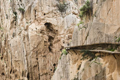 Caminito de Rey - Spain Royalty Free Stock Photography