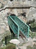 Caminito del Ray - διάβαση πεζών του βασιλιά - EL Chorro Στοκ φωτογραφία με δικαίωμα ελεύθερης χρήσης