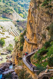 Caminito Del Rey mountains Royalty Free Stock Images