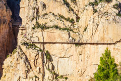 Caminito Del Rey mountains Stock Image