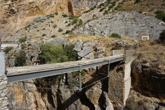 Caminito del Rey Royalty Free Stock Photos