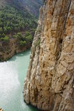 Caminito del Rey. In Spain Royalty Free Stock Photography