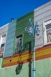 Caminito gata i Buenos Aires, Argentina royaltyfri bild