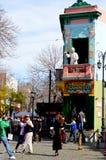 Caminito-La Boca, Buenos Aires Stockfoto