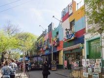 Caminito, La Boca, Buenos Aires Stock Photo