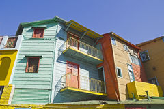 Caminito, La Boca district, Buenos Aires, Argentina Royalty Free Stock Photography
