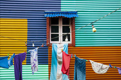 Colour house Royalty Free Stock Image