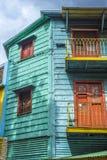 Caminito street in Buenos Aires, Argentina. Stock Photos
