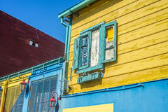 Caminito street in Buenos Aires, Argentina. Royalty Free Stock Image