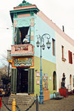 Caminito Street in La Boca, Buenos Stock Photos