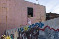 Caminitostraat in La Boca, Buenos aires, Argentinië Stock Afbeeldingen