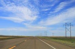 Camino abierto de par en par Imagen de archivo