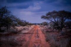 Camino africano a ningún donde Fotografía de archivo libre de regalías