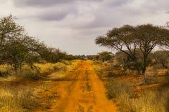 Camino africano a ningún donde Foto de archivo
