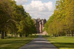 Camino al castillo Foto de archivo libre de regalías