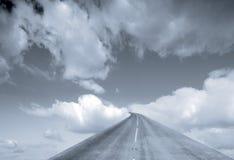 Camino al cielo Imagen de archivo