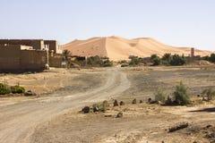 Camino al ergio Chebbi Fotografía de archivo