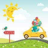 Camino al ????? feliz de Pascua Imagenes de archivo