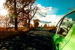 Camino al horizonte Foto de archivo libre de regalías