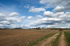 Camino al horizonte Imagen de archivo