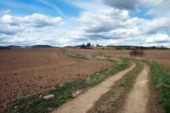 Camino al horizonte Fotografía de archivo