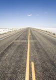 Camino al horizonte Imagen de archivo libre de regalías