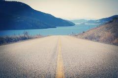 Camino al lago Fotos de archivo