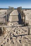 Camino al mar Imagen de archivo libre de regalías