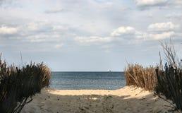 Camino al mar Fotografía de archivo libre de regalías