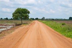 Camino al país Imagen de archivo libre de regalías