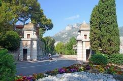 Camino al palacio, Mónaco, Tom Wurl Imagenes de archivo