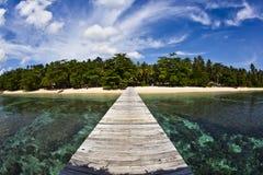 Camino al paraíso Fotografía de archivo