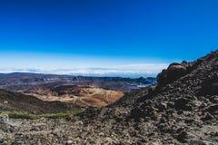 Camino al volcán Fotografía de archivo libre de regalías