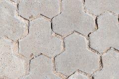 Camino alineado con las piedras inusuales Fotografía de archivo libre de regalías