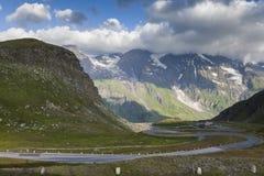 Camino alpestre en Austria fotografía de archivo