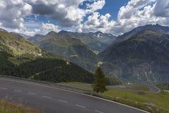 Camino alpestre en Austria fotografía de archivo libre de regalías