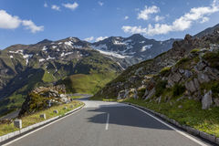 Camino alpestre en Austria foto de archivo libre de regalías