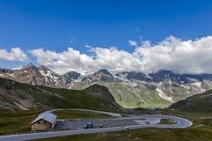 Camino alpestre en Austria fotos de archivo libres de regalías