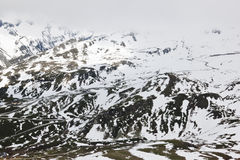 Camino alpino de Grossglockner del austriaco alto Fotografía de archivo libre de regalías