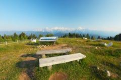 Camino alpino de Villach fotografía de archivo