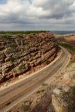 Camino a Amarillo Imagenes de archivo