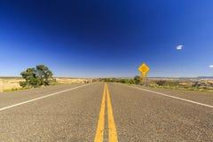 Camino apartado escénico 12, Utah, los E.E.U.U. Imagen de archivo
