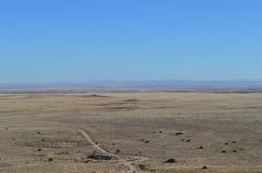 Camino Arizona del desierto Fotos de archivo