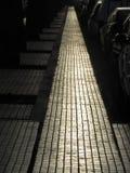 Camino asoleado Imagenes de archivo