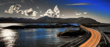 Camino atlántico fotografía de archivo libre de regalías