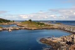 Camino atlántico Fotos de archivo libres de regalías